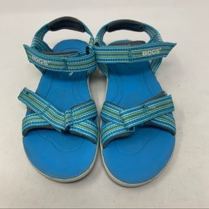 3/$25 Bogs girls rebound adjustable sandals